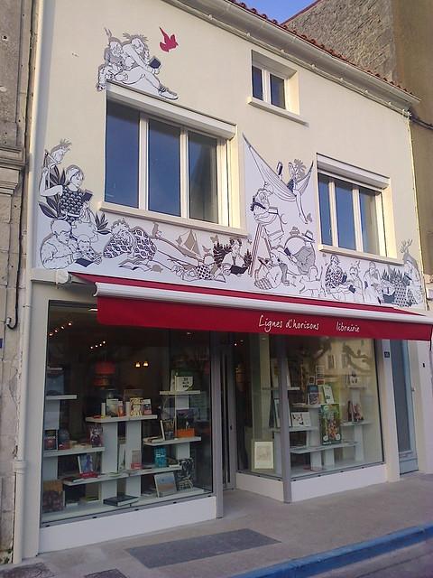 lignes d'horizons librairie Saujon