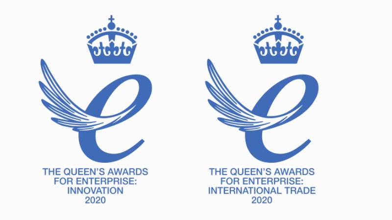 Queen's Award logos