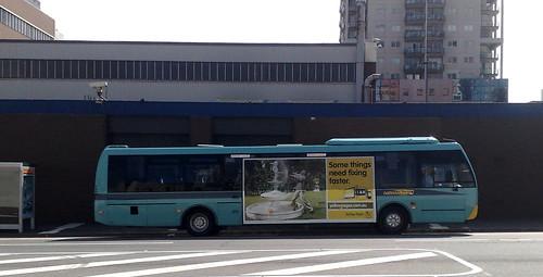 Lonsdale Street bus terminus, April 2010