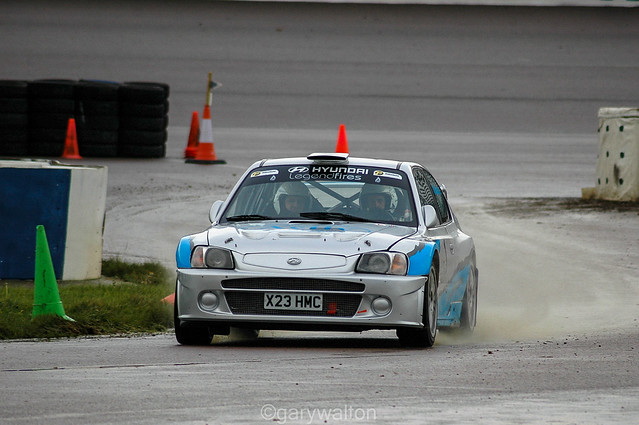 Simpson / Hunter - Hyundai Accent WRC - Rockingham Stages 2007