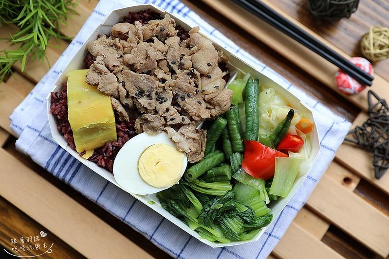 家常範低GI私廚南京三民便當健康餐盒宅配低卡餐50