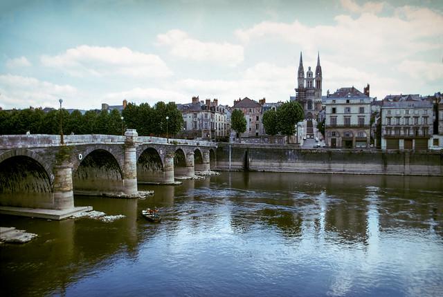 Pont de Verdun , Cathedral St Maurice, Angers  a13loire