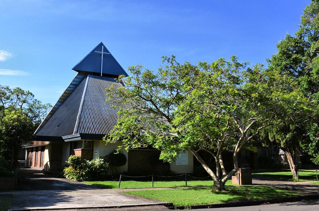 St Luke's Presbyterian Church, Roseville, Sydney, NSW.