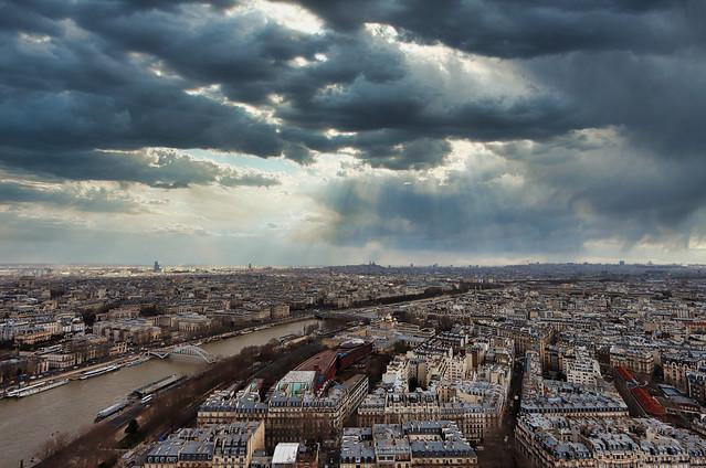 Paris with the virus
