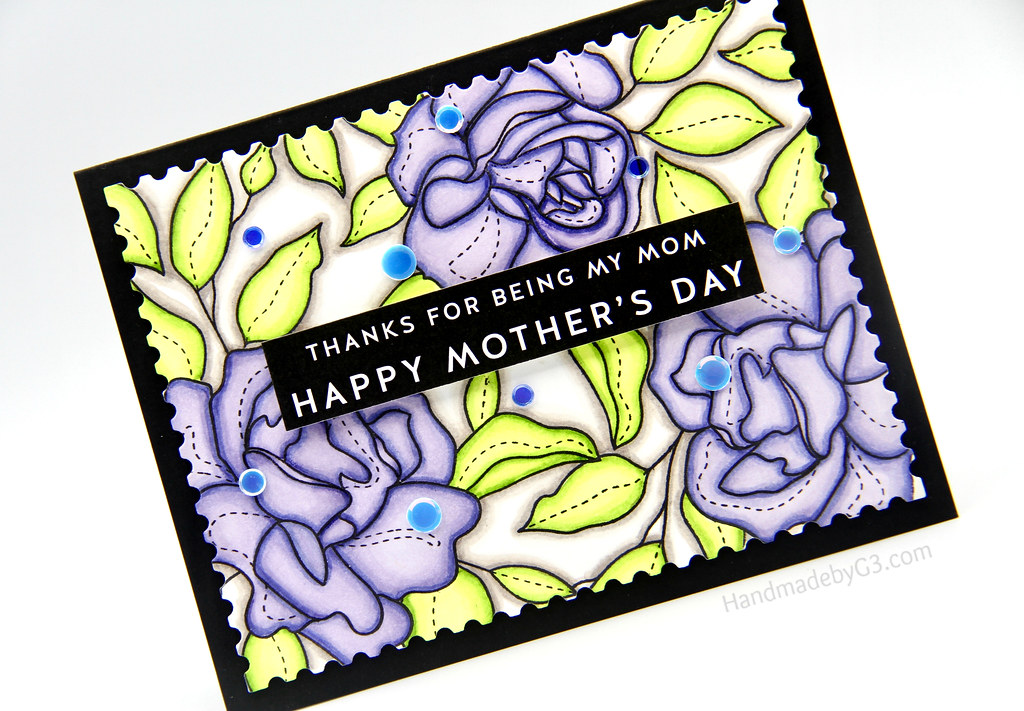 Happy Mother's Day Card closeup