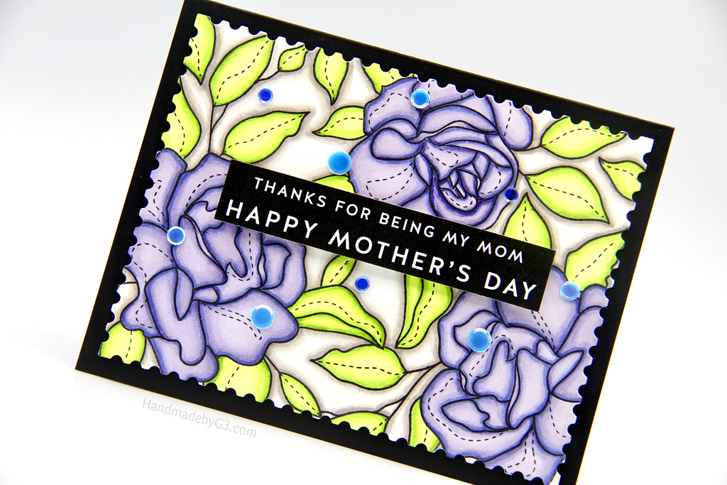 Happy Mother's Day Card closeup1