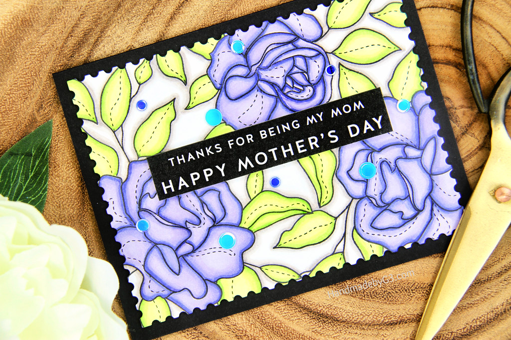 Happy Mother's Day card closeup2