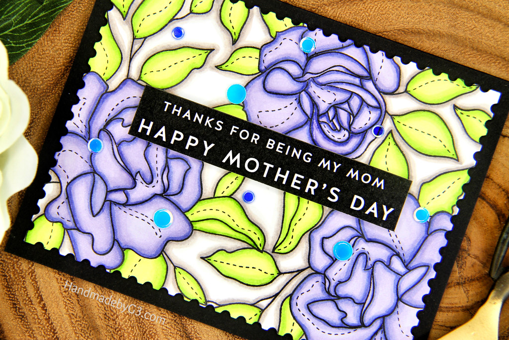 Happy Mother's Day Card closeup3