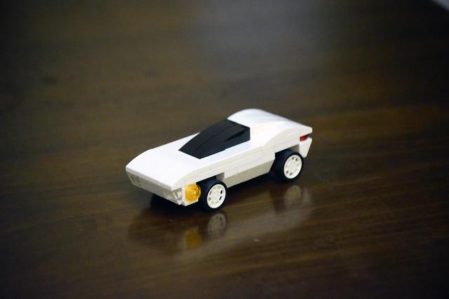 Futuristic Car Moc.