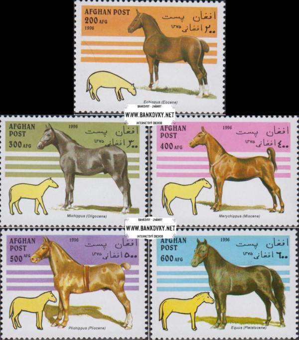 Známky Afghanistan 1996 Kone, nerazítkovaná séria MNH