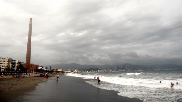 Nublado sobre la playa de la Misericordia!!! 2
