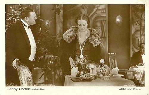 Henny Porten in Liebe und Diebe (1928)