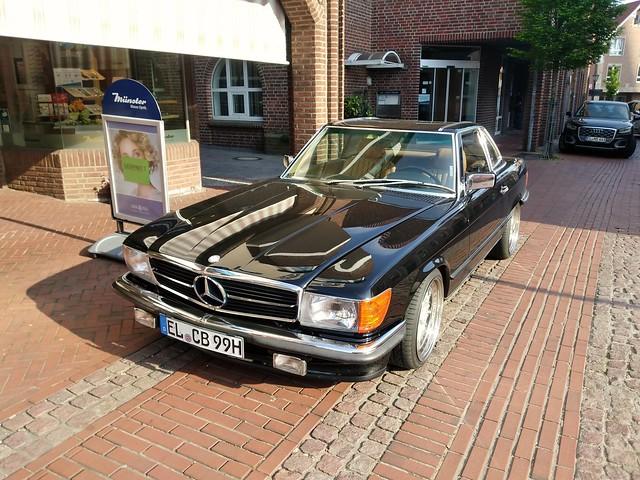 Mercedes Benz 560 SL   EL CB 99 H   Haselünne 27.04.2020
