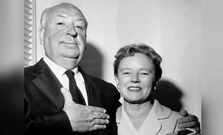 Alfred y su mujer, Alma Reville