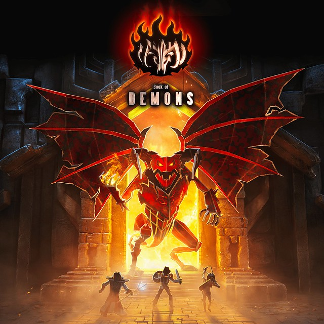 Thumbnail of Book of Demons on PS4