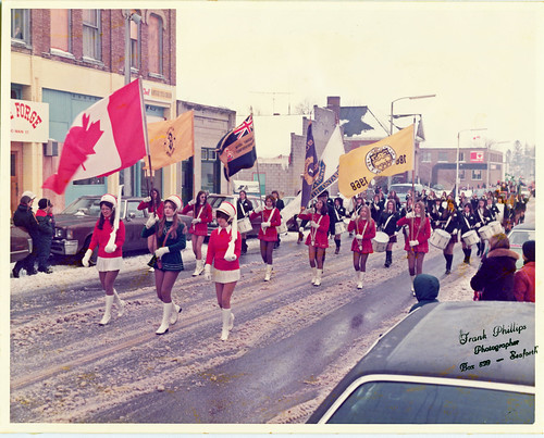 1968 Seaforth District High School Girls' Trumpet Band