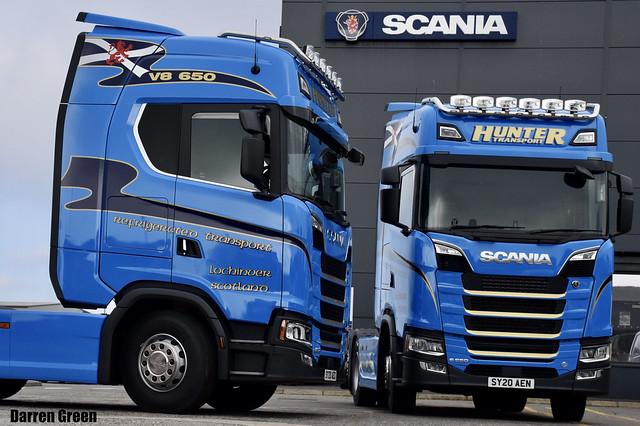 HUNTER TRANSPORT SCANIA NEXT GENERATION S650 V8 SY20 AEO SY20 AEN