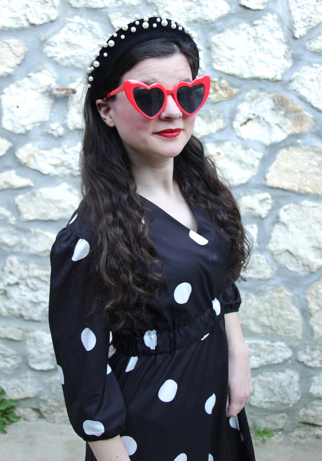 comment-porter-look-robe-longue-noire-pois-converse-blog-mode-la-rochelle-2