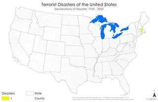 Declared Disasters - Terrorist