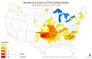 Declared Disasters - Severe Ice Storms