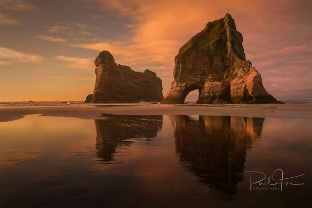 Wharariki beach NZ