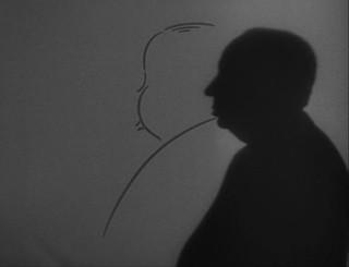 Silueta Alfred Hitchcock