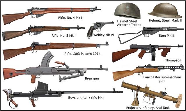 ww2 - British individual weapons