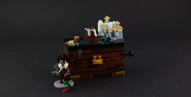 Mechanical Pirate Toy