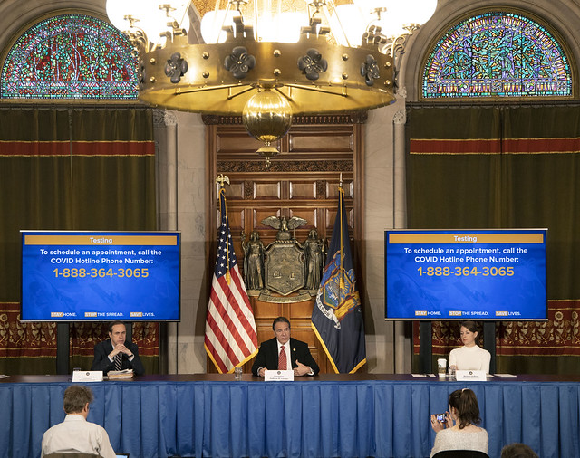 Governor Cuomo Holds Briefing on COVID-19 Response - 4/27