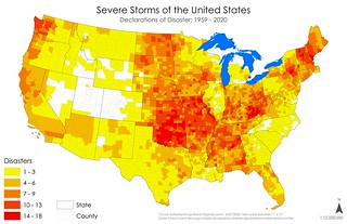 Declared Disasters - Severe Storms