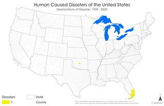 Declared Disasters - Human Caused