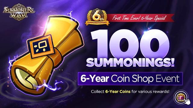 SW 100 Summonings Event Key Art