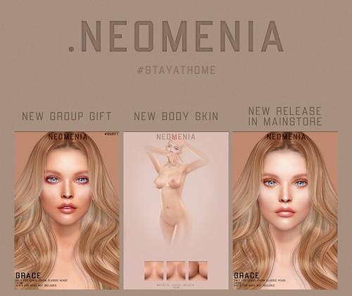 .NEOMENIA - NEW NEW NEW (April)