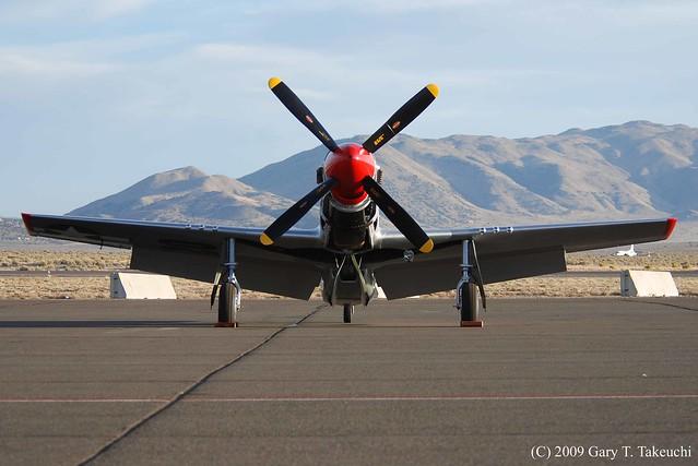 """Reno Air races 2009 - North American P-51D Mustang """"Ridge Runner III"""""""