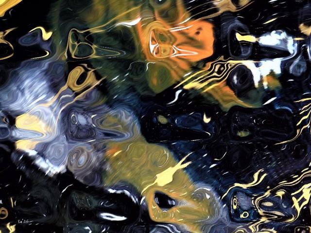 Dans le flou III  - In the Blur III
