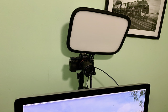 Updated video conferencing rig