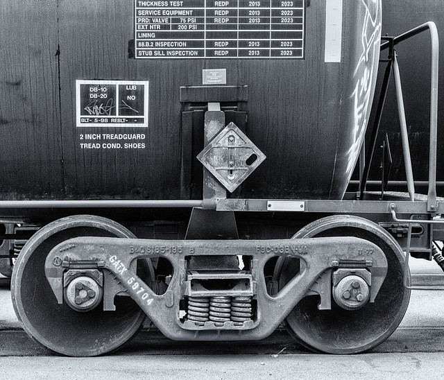 Railcar Truck and Markings 2