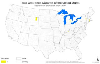Declared Disasters - Toxic Substance