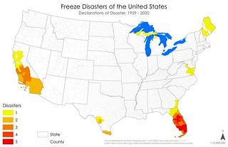 Declared Disasters - Freeze