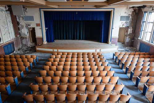 Abandoned School Auditorium (Explored)