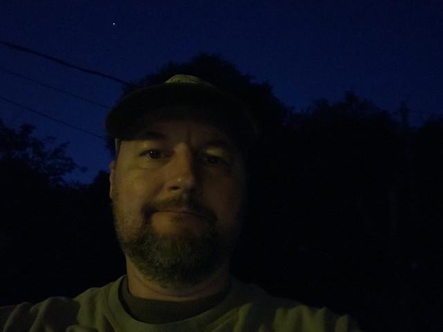 Early Morning Big Sit Selfie