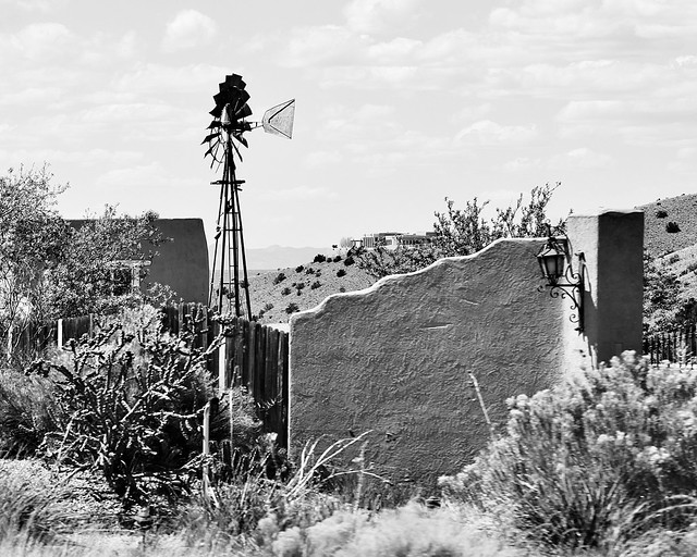 Windmill in Placitas