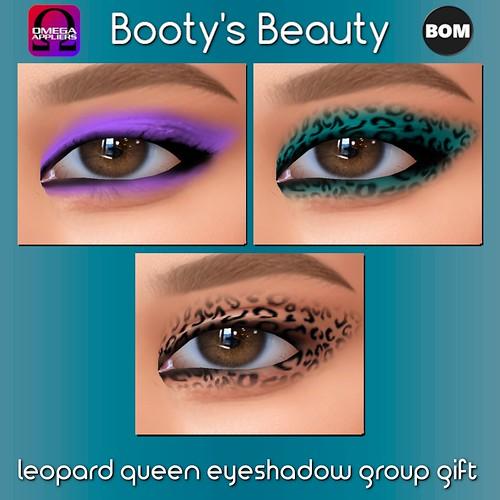 *Booty's Beauty* Leopard Queen Eyeshadow ~ Omega & BOM