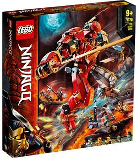 LEGO 70685~70687、71703~71705、71717~71722《樂高旋風忍者:旋風術大師》系列 2020 下半年多款盒組公開(LEGO Ninjago 2020 Summer Sets)