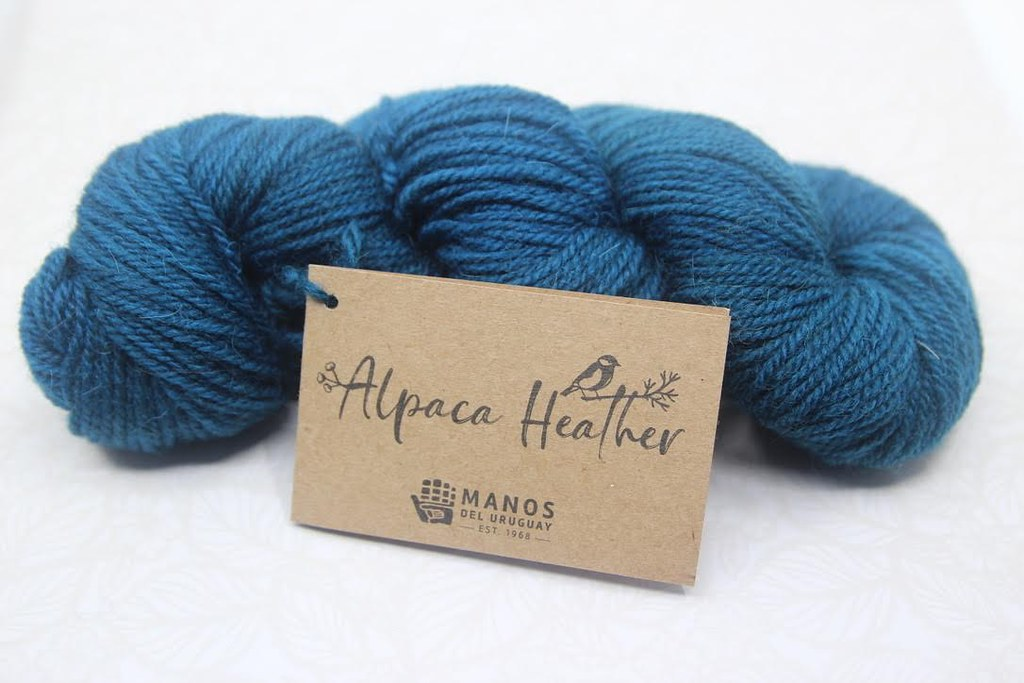 Manos del Uruguay Alpaca Heather in Harbor