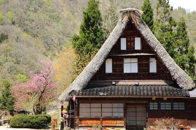 The old style farmhouse