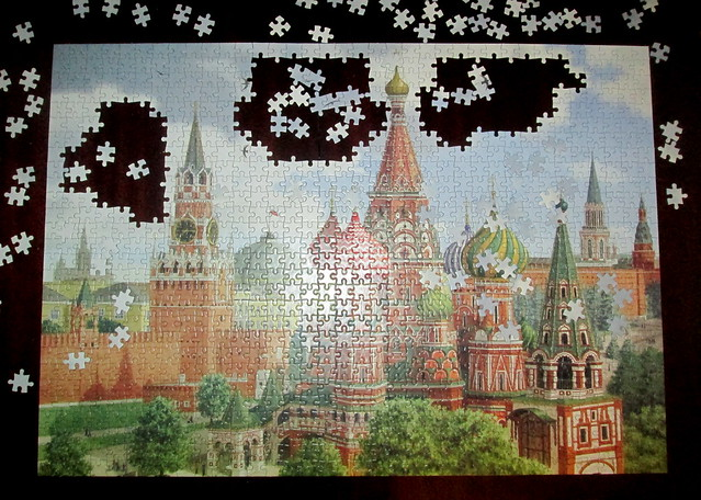 Unfinished Moscow Jigsaw