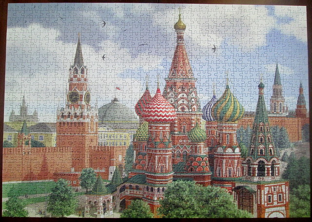 Moscow Jigsaw Finished