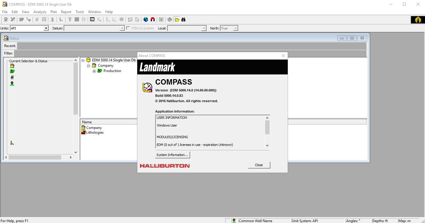 Working with Halliburton Landmark Engineer's Desktop (EDT) 5000.14.0 full