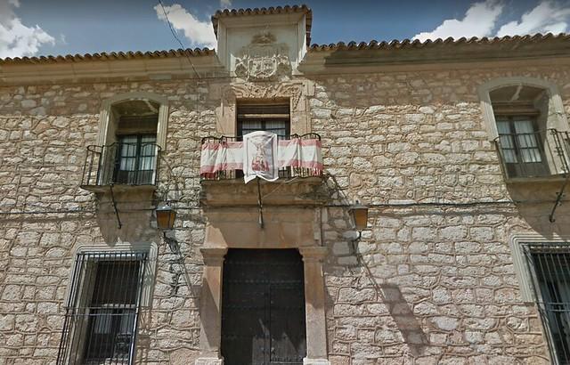 Casa de Diego Chico de Guzmán y Figueroa en Mota del Cuervo